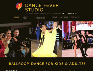 dance-fever-studio.com screenshot