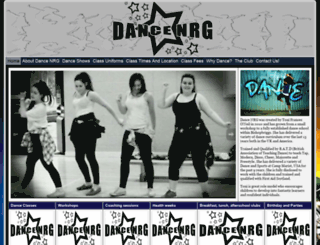 dance-nrg.com screenshot