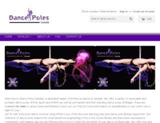 dance-pole.ca screenshot
