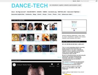dance-tech.net screenshot