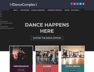 dancecomplex.org screenshot
