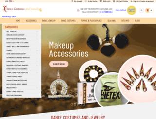 dancecostumesandjewelry.com screenshot
