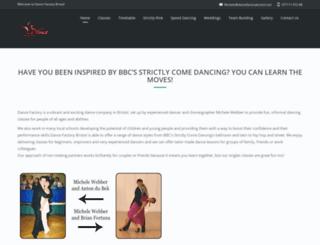 dancefactorybristol.com screenshot
