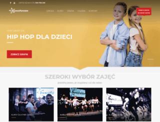 dancefusion.com.pl screenshot