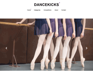 dancekick.com screenshot