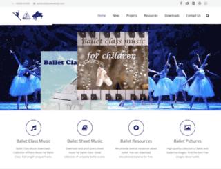dancemelody.com screenshot