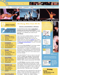dancesitenow.com screenshot
