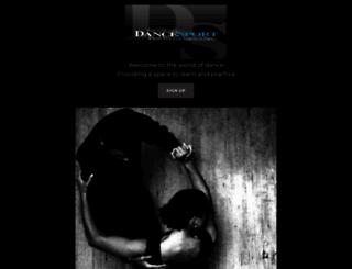 dancesport.com screenshot