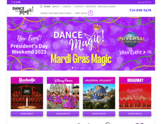 dancethemagic.com screenshot