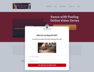 dancewithfeeling.com screenshot