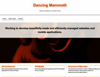 dancingmammoth.com screenshot