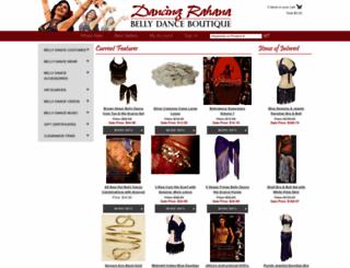 dancingrahana.com screenshot