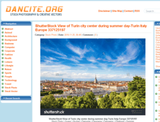 dancite.org screenshot