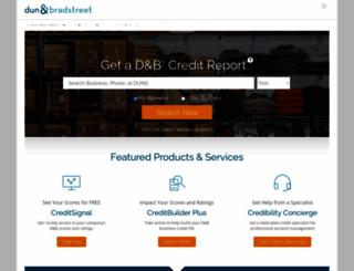 dandb.com screenshot