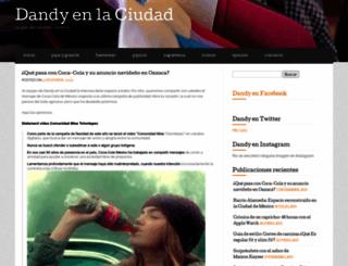 dandienlaciudad.wordpress.com screenshot
