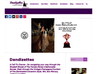 dandizettes.com screenshot