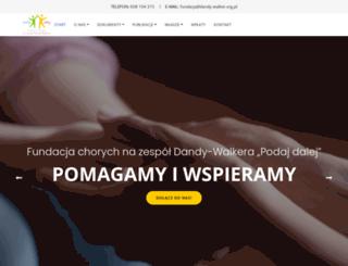 dandy-walker.org.pl screenshot