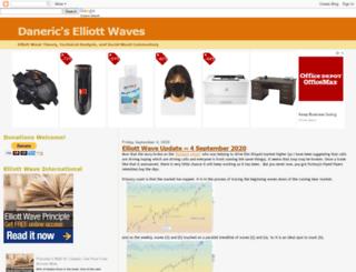 danericselliottwaves.blogspot.fr screenshot