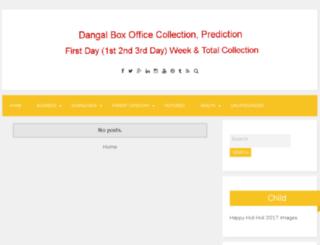 dangalboxofficecollectionprediction.in screenshot