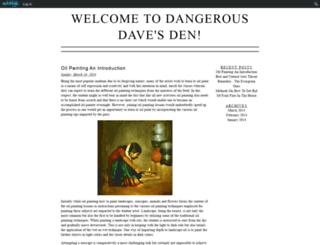 dangerousdave.edublogs.org screenshot