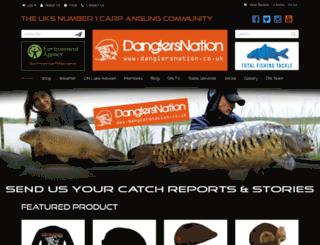 danglersnation.co.uk screenshot