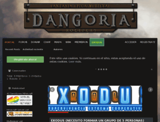 dangoria.es screenshot