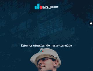 danhebert.com.br screenshot