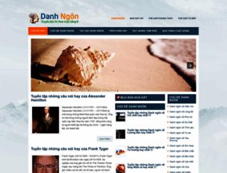 danhngon.nhadatso.com screenshot