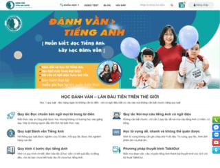 danhvantienganh.com screenshot