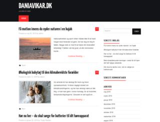 daniavikar.dk screenshot