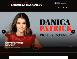 danicapatrick.com screenshot