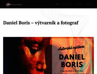 daniel-boris.sk screenshot