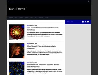 daniel-irimia.com screenshot