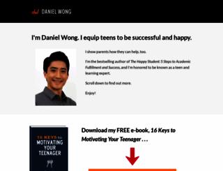 daniel-wong.com screenshot