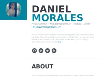daniel.com.uy screenshot