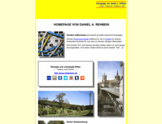 daniel.rehbein.net screenshot