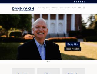 danielakin.com screenshot