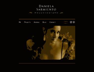 danielasarmiento.com screenshot