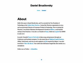 danielbru.com screenshot