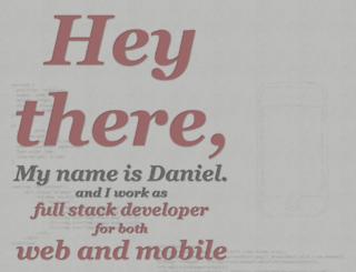 danielcamargo.com screenshot