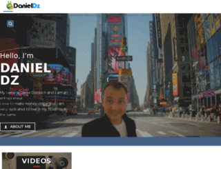 danieldznetwork.com screenshot