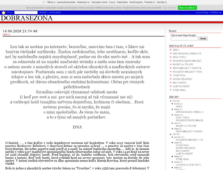 danielin.txt.cz screenshot
