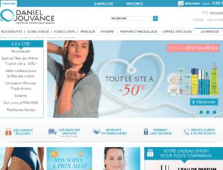 danieljouvance.fr screenshot