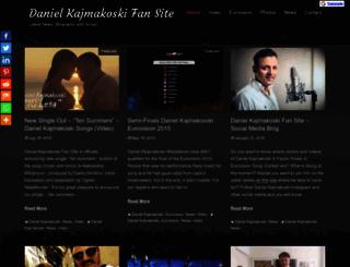 danielkajmakoski.mk screenshot