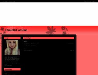 daniellacaroline.bloggplatsen.se screenshot
