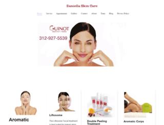 daniellaskincare.com screenshot