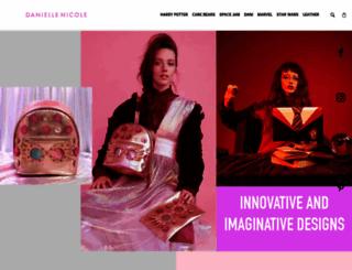 danielle-nicole.com screenshot