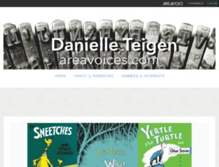 danielleteigen.areavoices.com screenshot