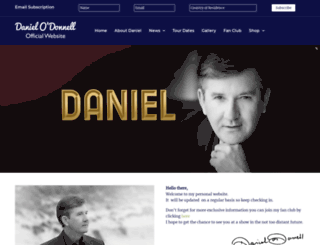 danielodonnell.org screenshot