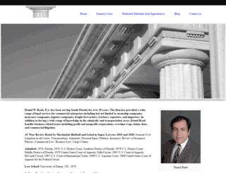danielraab.com screenshot